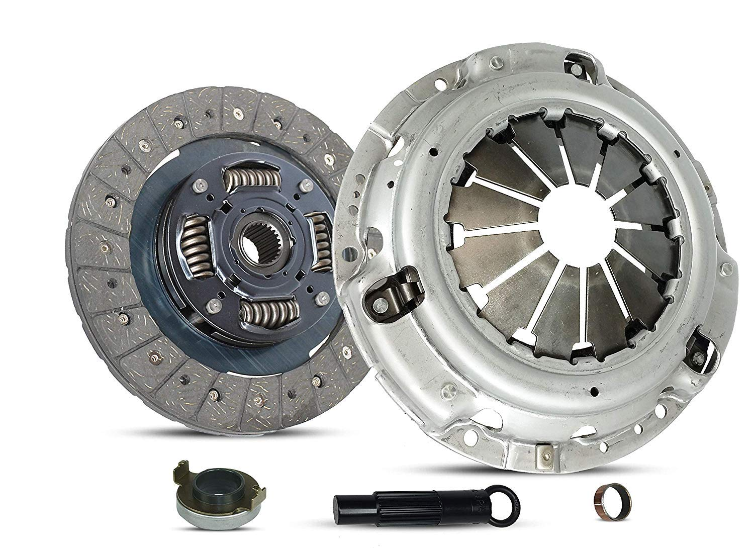 Clutch Kit works with Honda Element Cr-V Ex Lx Sc Dx Sport Utility 4-Door 2.4L l4 GAS DOHC Naturally Aspirated (Flywheel Spec: .112+; Stage 1)
