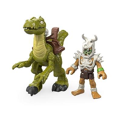 Fisher-Price Imaginext Velociraptor: Toys & Games
