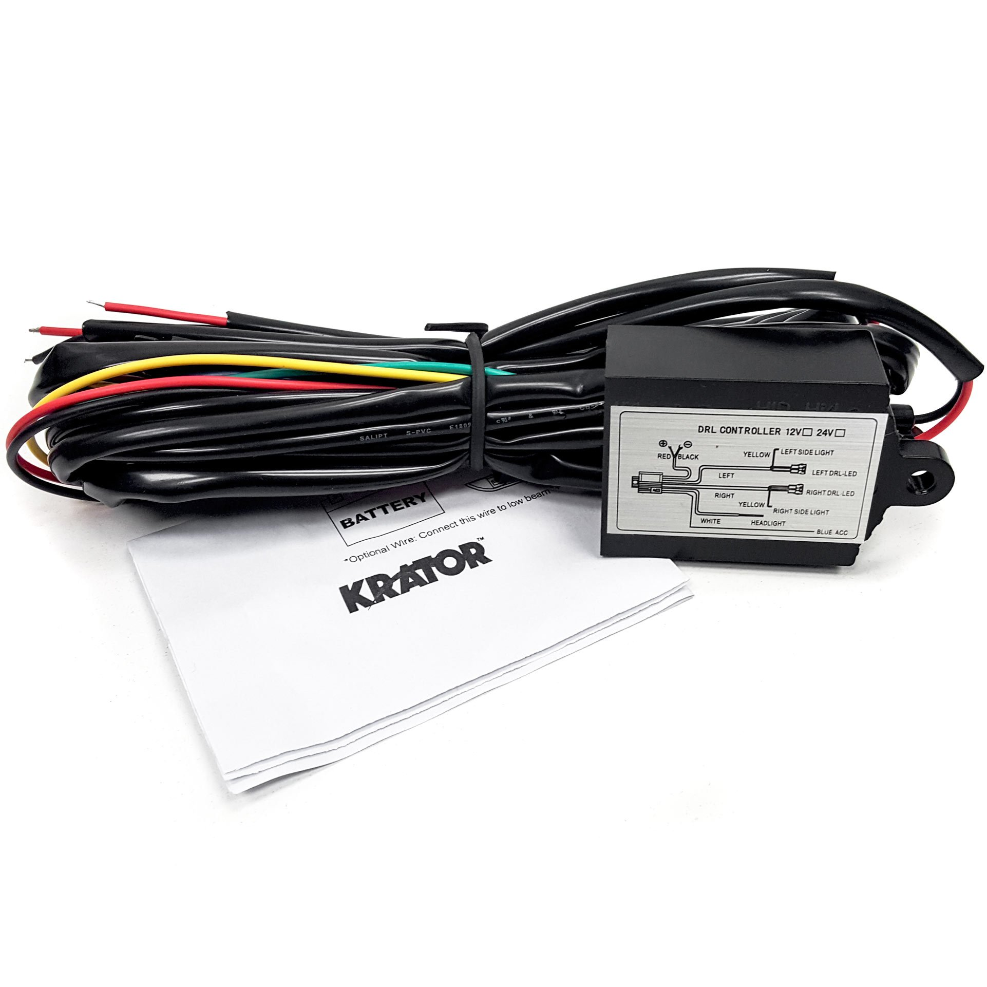 12-18V Auto Car LED Daytime Running Light Controller LED On//Off Fog Light Switch Controller Car Accessories Keenso DRL Controller