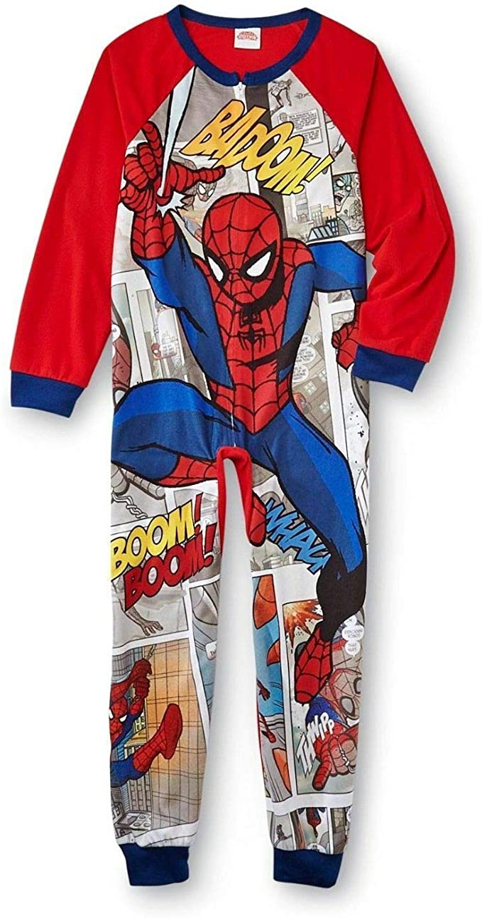 Marvel Size 6 Spider-Man 3 Fleece Blanket Pajama Sleeper