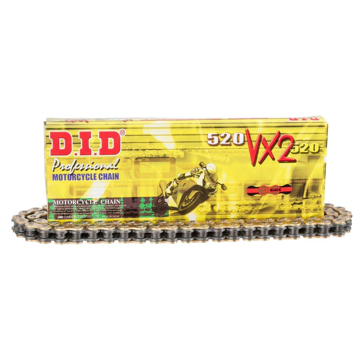 D.I.D Kette 520VX2 Gold Gr. 116