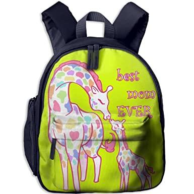 5e361ffc6ee Image Unavailable. Image not available for. Color  Best Mom Ever Backpack  School Bag Rucksack Travel ...
