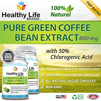 green coffee bean pure life