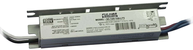 Fulham Lighting Fulham Sugar Cube Ballast, SC-120-108-LT5 Fulham Co. Inc.