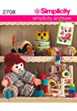 Simplicity Sewing Pattern 2708 Crafts, One Size