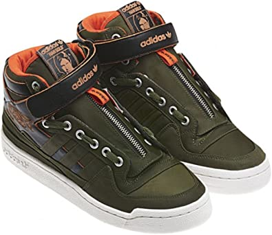 innovative design 0fd8f 19c17 Image Unavailable. Image not available for. Color adidas Originals Forum  Mid Star Wars (Han Solo) ...