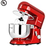 CHEFTRONIC Stand Mixers SM-986 120V/650W 5.5qt Bowl 6 Speed Kitchen Electric Mixer Machine