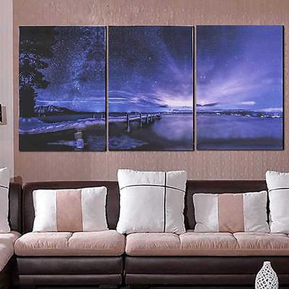 5 PCS Set Canvas Modern Wall Art Oil Painting Picture Print Unframed Home Decor
