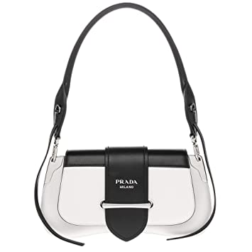 9519ae70aa03 Image Unavailable. Image not available for. Color  Prada Sidonie Leather  Shoulder Bag ...