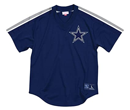 1fecb639304 Image Unavailable. Image not available for. Color: Mitchell & Ness Dallas  Cowboys NFL Men's Winning Team Mesh Jersey Shirt