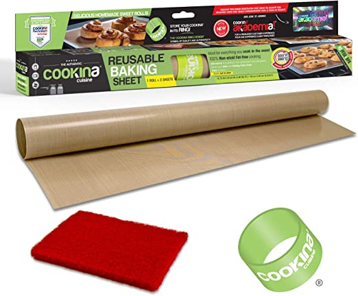Heat Resistance Cooking Pad Sheet Reuseable Non Stick Oven Baking Mat