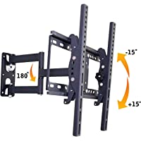 "AlexVyan Imported New TV LCD LED Wall Mount Stand 32 to 55"" (32 40 42 46 52 55 inch)180 Degree Rotatable Plasma Bracket for TV of Sony LG Samsung Micromax Lloyd Panasonic Phillips Yu Hier Videocon"