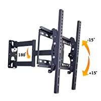 Alexvyan Iron Wall Mount Stand ( 32 40 42 46 52 55 inch) 180 Degree Rotatable LCD Plasma LED Bracket for TV