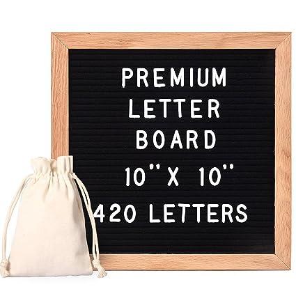 StillCool Letter Board Letterboard Tablero de pizarra de ...