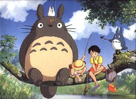 Amazon.com: 026 My Neighbor Totoro 33x24 inch Silk Poster Aka ...