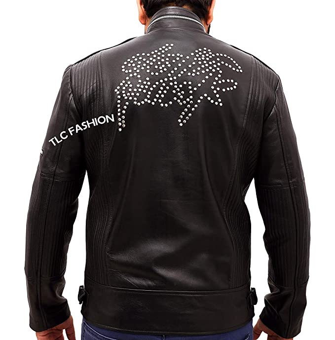 Amazon.com: TLCFashion Daft Punk - Chaqueta de cuero para ...