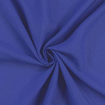 "NAVY BLUE PLAIN POLY SILK SATIN FABRIC BRIDAL MATERIAL DRESS MAKING 58/"" WIDE"