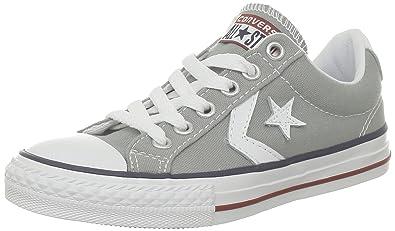 Converse Sp Ev Canvas Ox 290360-31-12, Unisex - Kinder Sneaker, Grau (Gris), EU 30