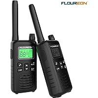 FLOUREON Radioteléfono de 16 Canales con Dos Canales