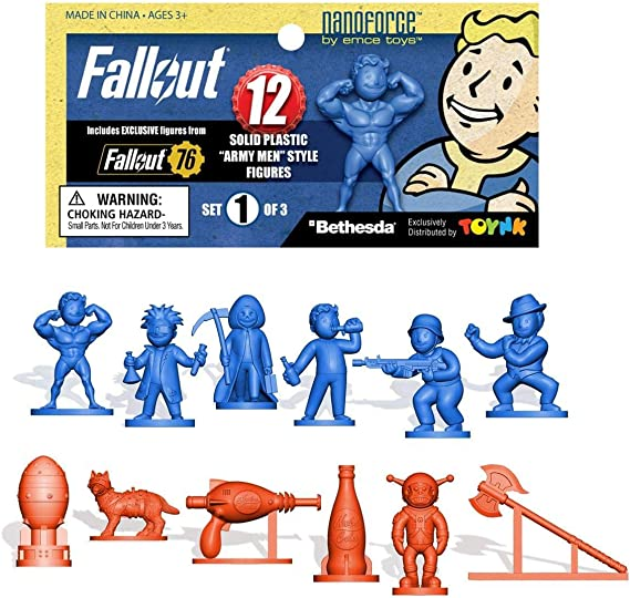 Mailed from USA First Series Unused//Boxed Vault Boy Bobblehead Set of 7