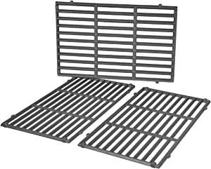 Stanbroil Cast Iron Cooking Grate for Weber Genesis II and Genesis II LX 400 Series Gas Grills, Set of 3