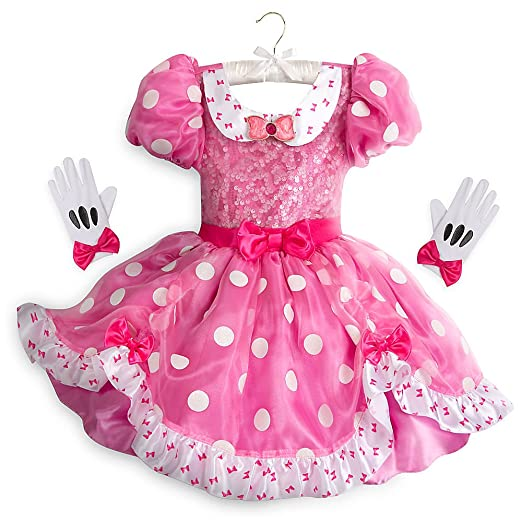 a56389d07 Amazon.com  Disney Minnie Mouse Costume for Kids Size 4 Pink  Clothing