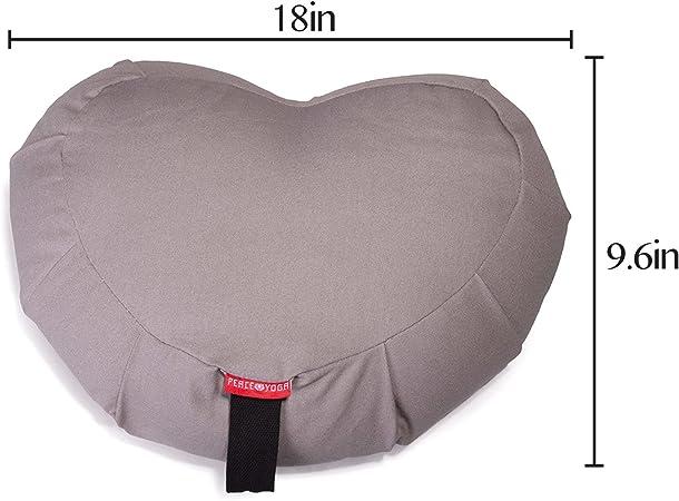 Yoga Meditation Buckwheat Bolster Pillow Cushion