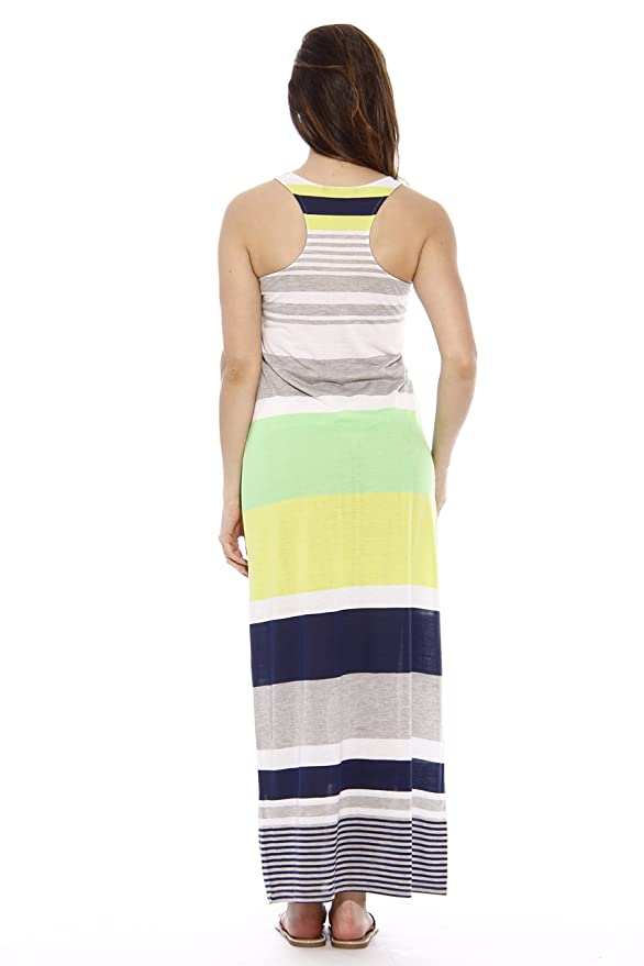 e569b3ad1051 Just Love Racerback Maxi Dress/Summer Dresses for Juniors at Amazon Women's  Clothing store: