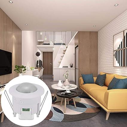 Pir Motion - Inteligent Security Auto Motion Detector Pir Sensor Switch Ceiling Automatic Light 360 Degrees