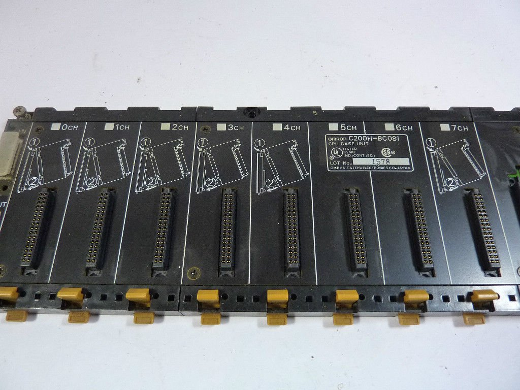 Omron C200H-BC081 8 Slot CPU Base Unit T15520