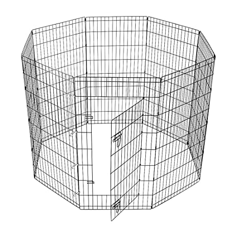 EleTab Exercise Pen For Small Dog And Pet, 8 High Panel DIY Portable Small  Animal