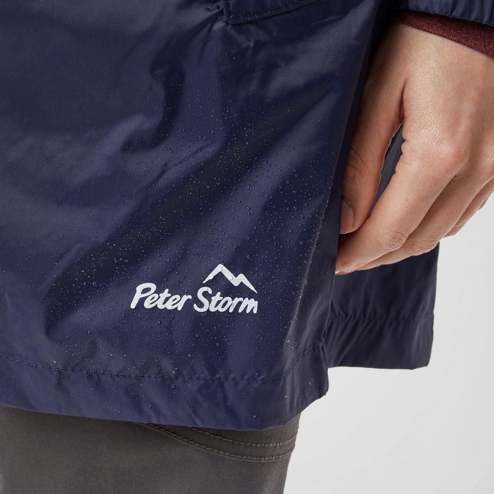 Peter Storm Mujer Parka en un paquete de ropa al aire libre Marina ... 97b95888dec2