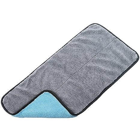 Toallas acolchadas para el lavado de autos, productos absorbentes sin pelusa para limpieza de autos