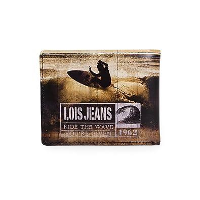 Lois - Cartera para hombre, color negro, talla L: LOIS ...