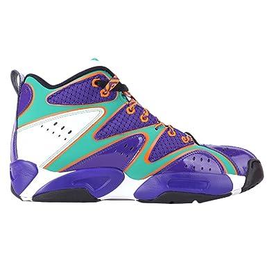 06a03ef98cfa Reebok Kamikaze I Mid MSH Team Basketball Shoes Trainers Purple White Turquoise  Blau