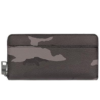 7f158cb19231 Amazon | [コーチ] COACH 財布 (長財布) F75099 グレーカモフラージュ ...