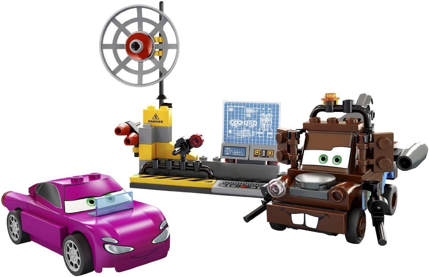 Amazon Com Lego Cars Mater S Spy Zone 8424 Toys Games