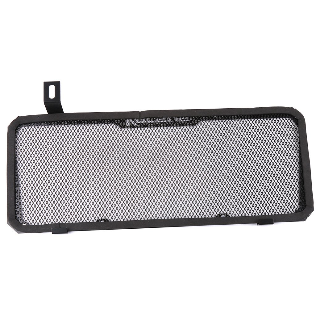 Motorcycle Engine Radiator Bezel Grille Protector Grill Guard Cover Protection For kawasaki V650 Versys 650 2015-2017 (Black) RGV650UK