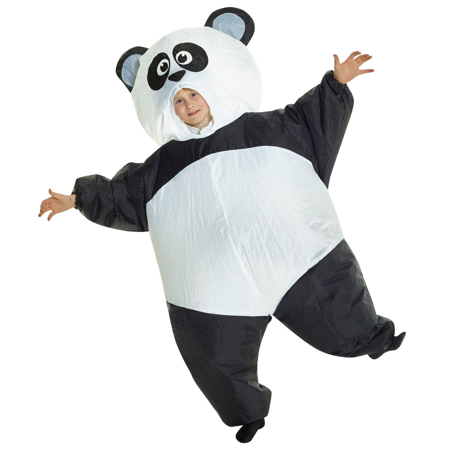Morphsuits Panda Gigante Hinchable Blow Up Disfraz Disfraz – Talla única Compatible