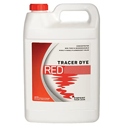 Bluewater Chemgroup Concentrated Red Tracer Dye - One Gallon (128 Ounces): Automotive [5Bkhe0809411]
