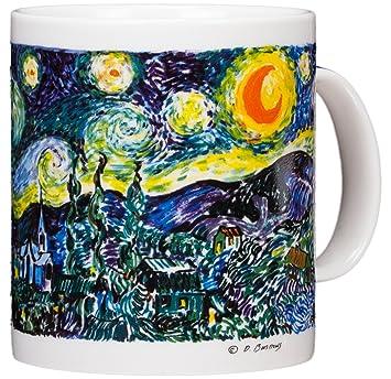 Amazon Vincent Van Gogh The Starry Night 14oz Coffee Mug
