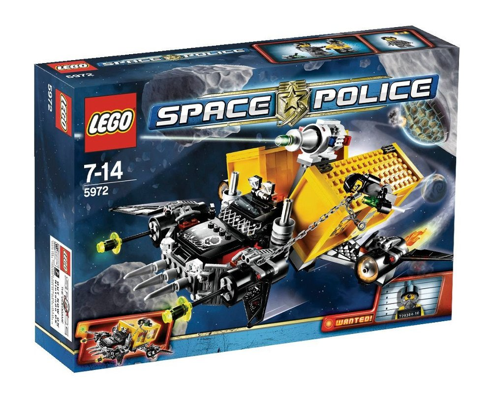 LEGO Space Police 5972 - Containerraub