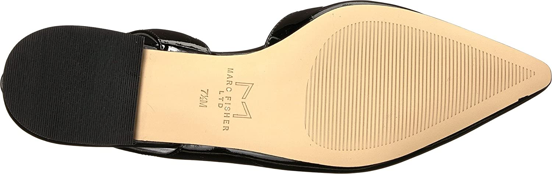 Marc Fisher LTD Womens Sessily B078YBWGD1 7.5 B(M) US|Black/Nero/New Patent Leather
