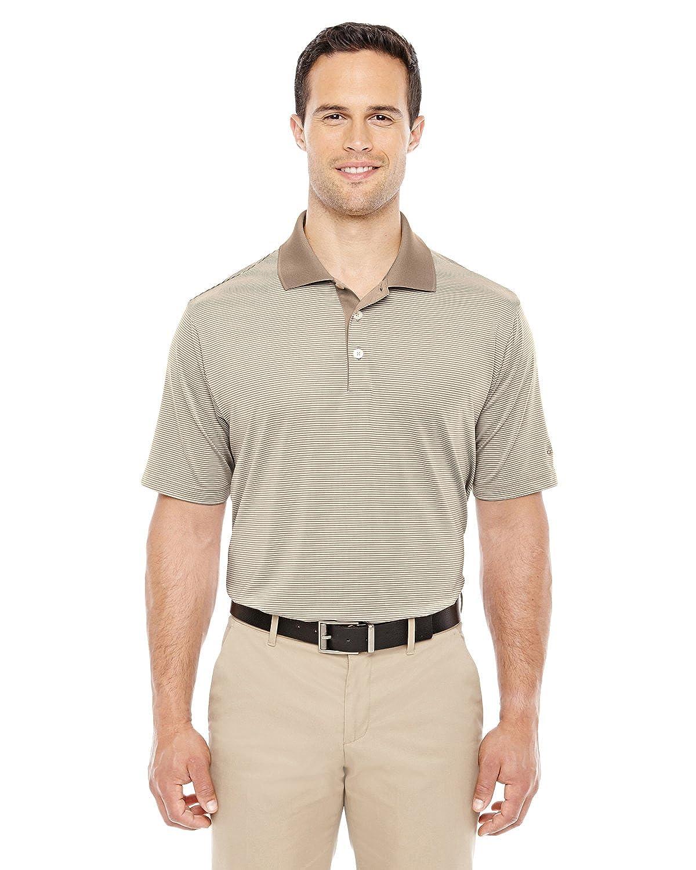 adidas Climalite Stripe Polo Piqué Camiseta de - A119, Shore/Ecru ...