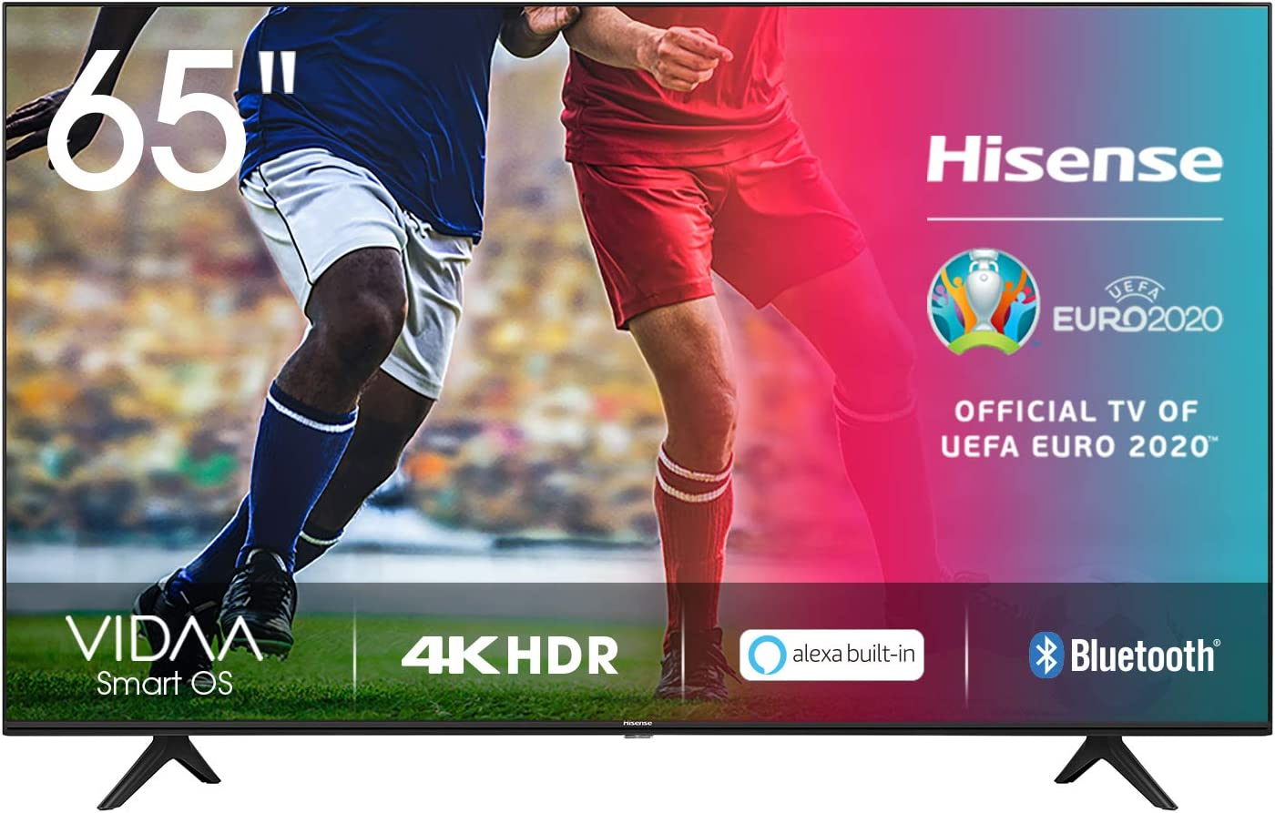 Hisense UHD TV 2020 65AE7000F - Smart TV Resolución 4K con Alexa integrada, Precision Colour, escalado UHD con IA, Ultra Dimming, audio DTS Studio Sound, Vidaa U 4.0: Amazon.es: Electrónica