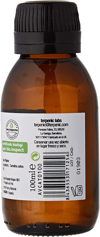 Terpenic Evo Camelina Bio Aceite Vegetal 100Ml 300 g: Amazon.es: Alimentación y bebidas