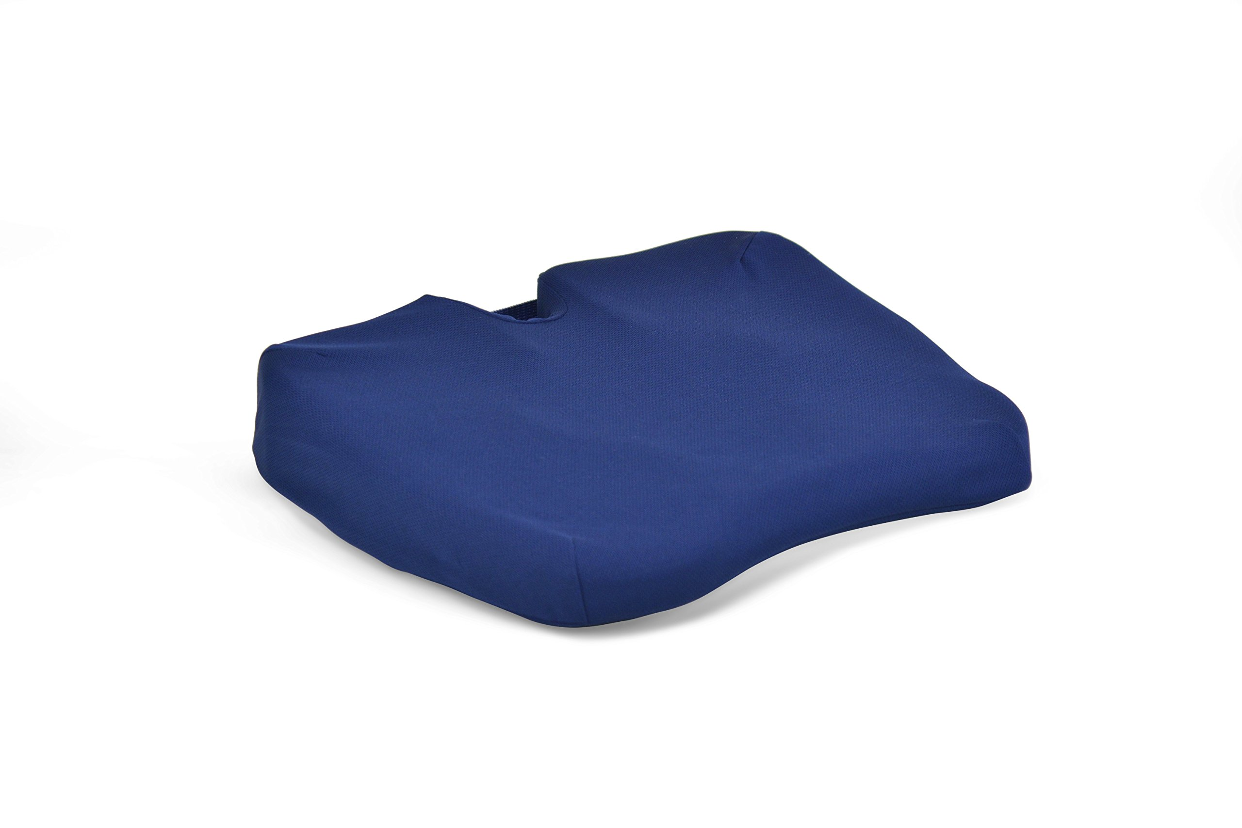 Contour Products Kabooti Coccyx Foam Seat Cushion, Blue