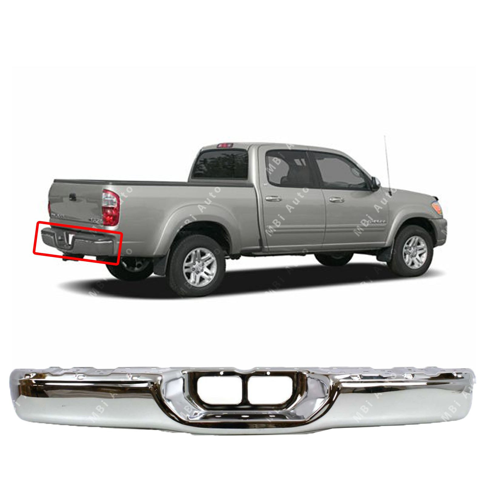 FITS 521630C010 REAR BUMPER PAD RIGHT FOR 2006-2006 TOYOTA TUNDRA