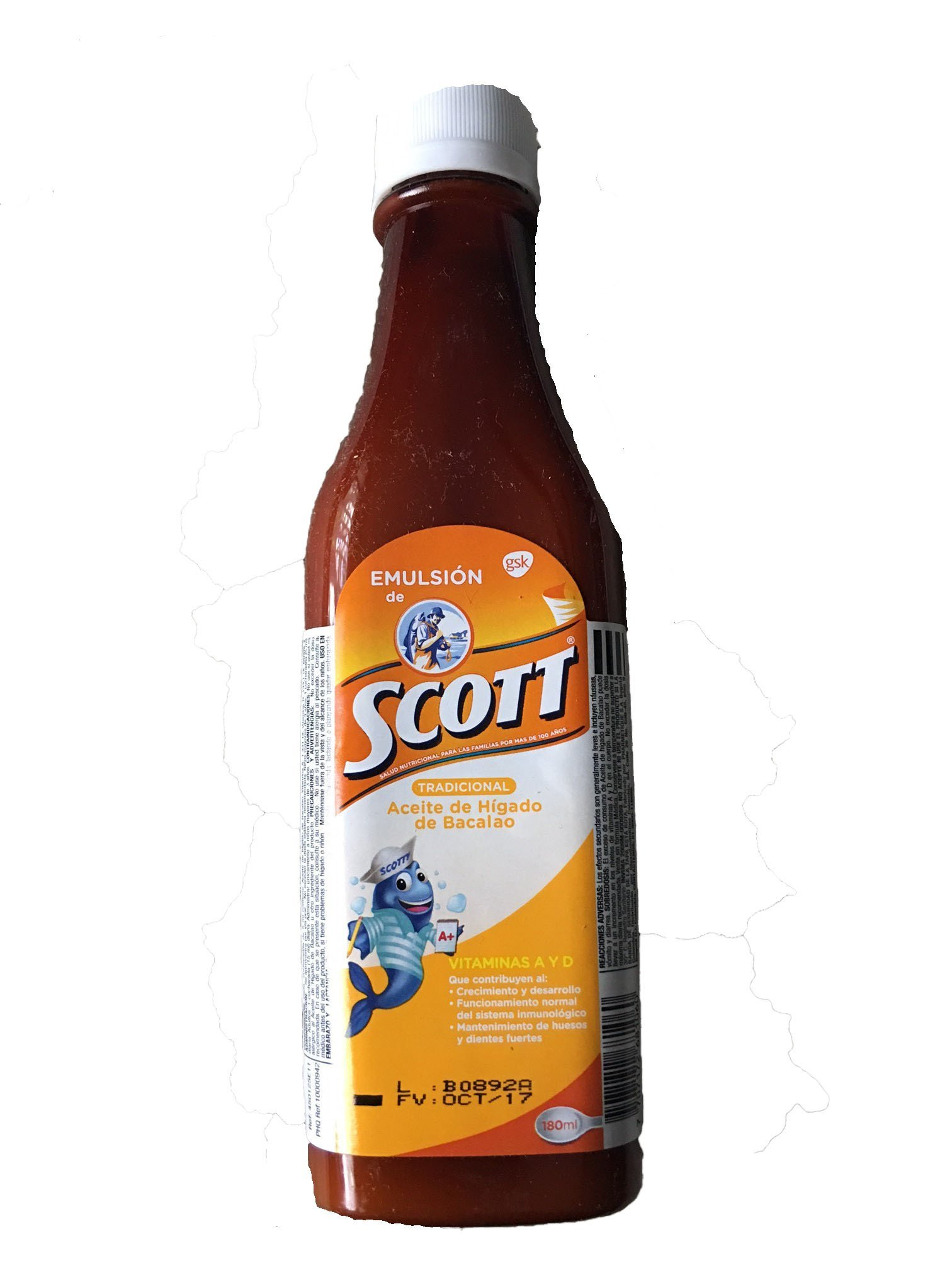 Emulsion de Scott (Sabor Tradicional) 180 Ml