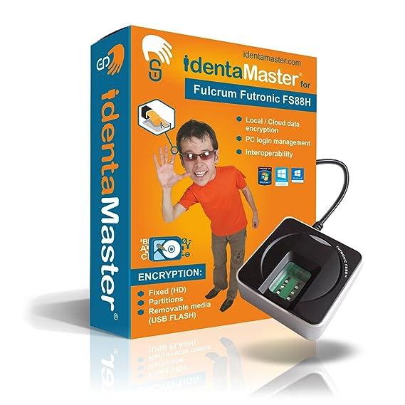 Amazon com: IdentaMaster Biometric Security Software with Fulcrum